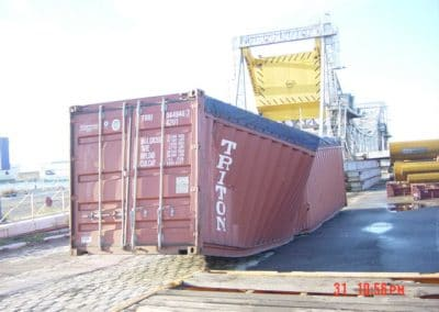 Expertise contradictoire sur conteneur – Joint expertise on container